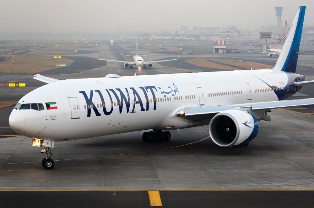 طائرة الكويت