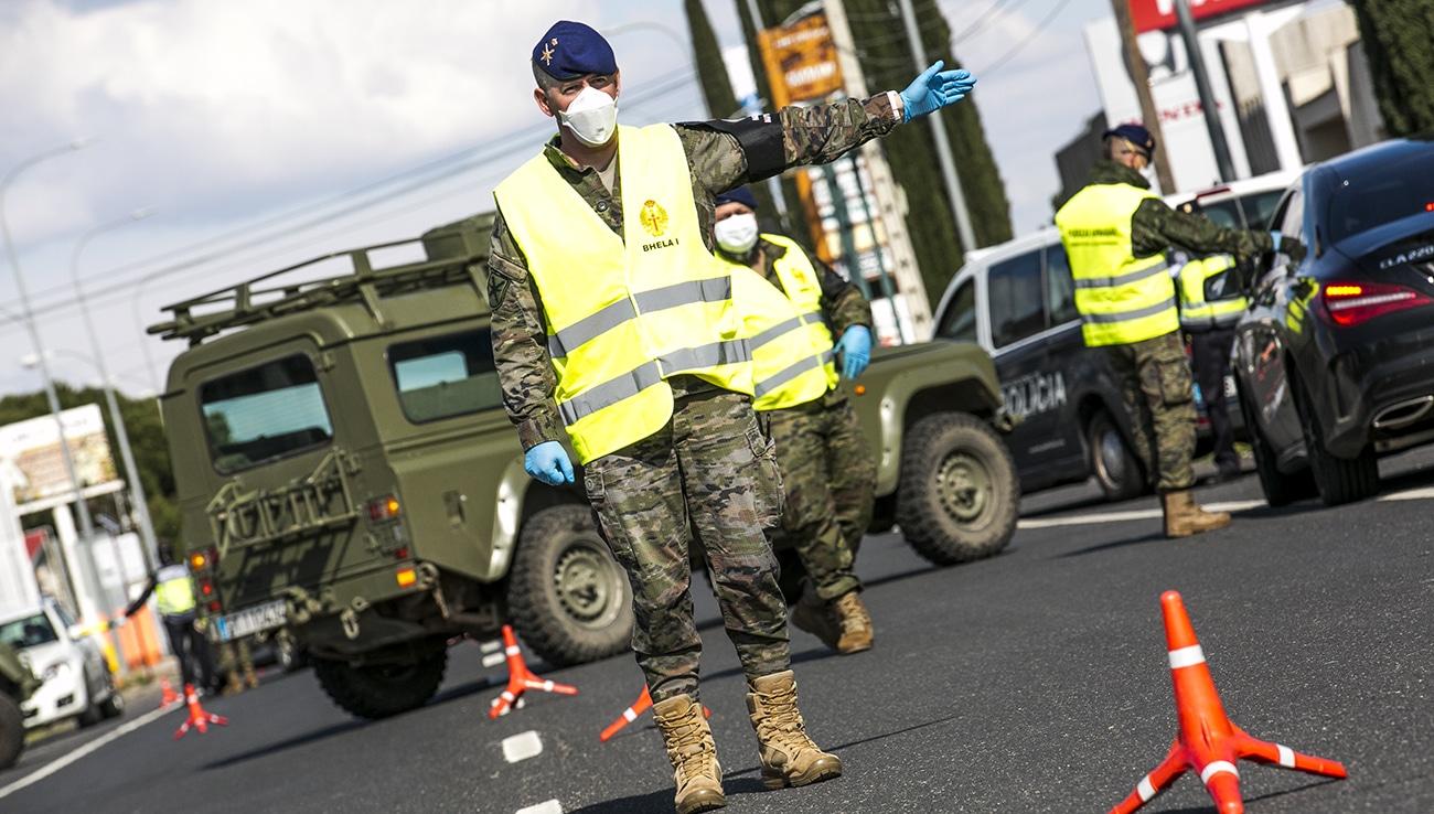 استدعاء الجيش إسبانيا