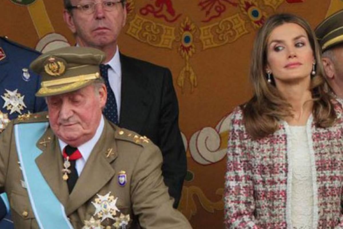 الملكة ليتيثيا تنتقم من خوان كارلوس