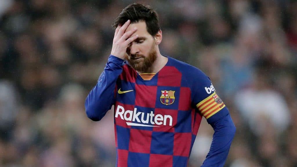 رحيل ميسي برشلونة