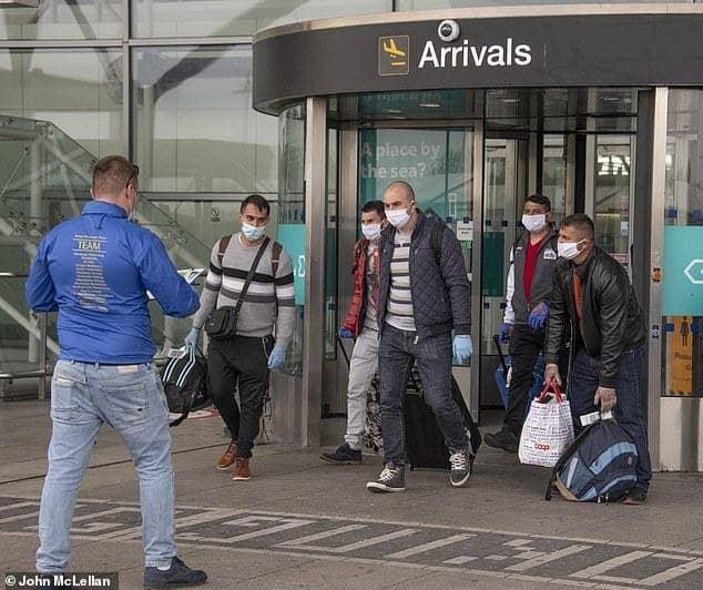 دخول إسبانيا العمال الأجانب