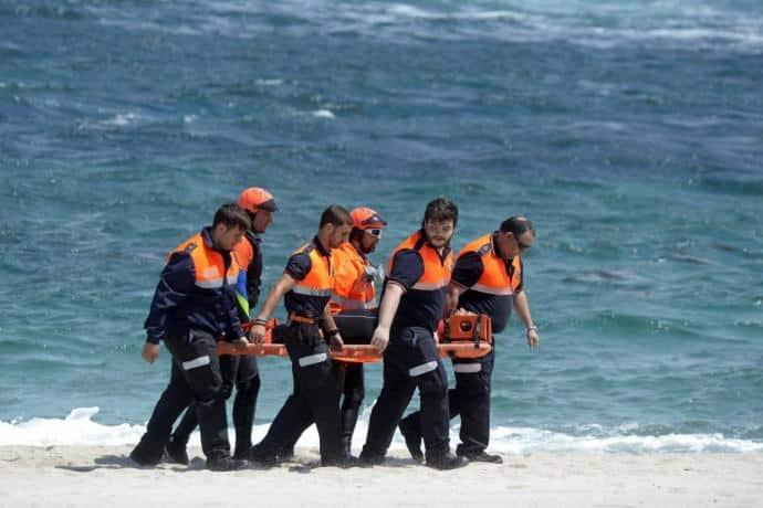 مأساة مهاجر غير نظامي في إسبانيا