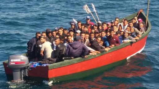 مهاجرين قارب