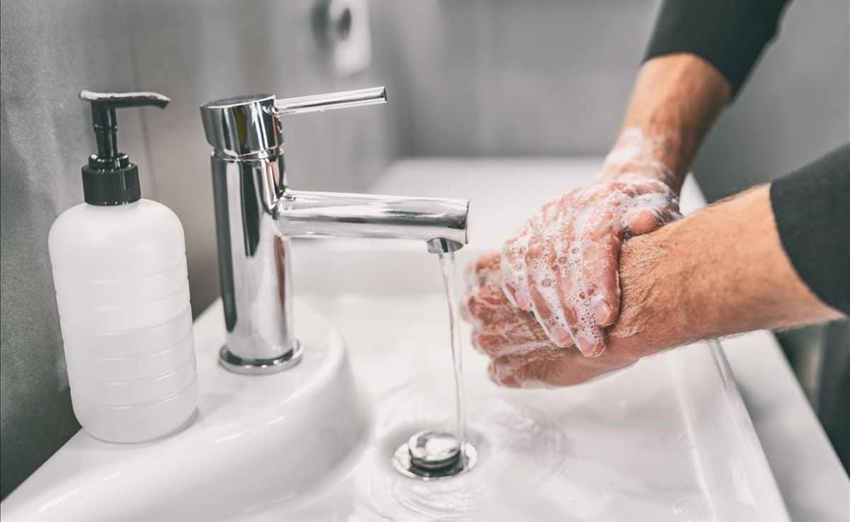 غسل اليدين فيروس كورونا