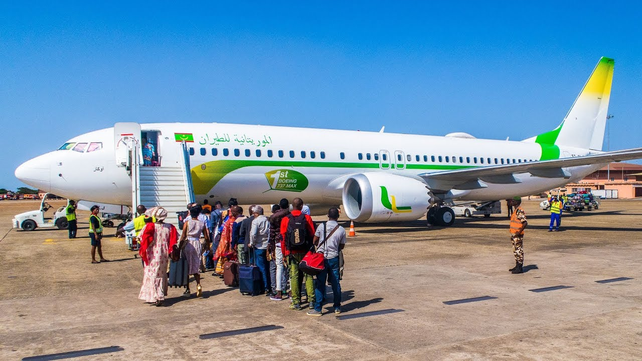 موريتانيا فتح المجال الجوي