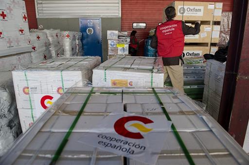 مساعدات إسبانية لبنان