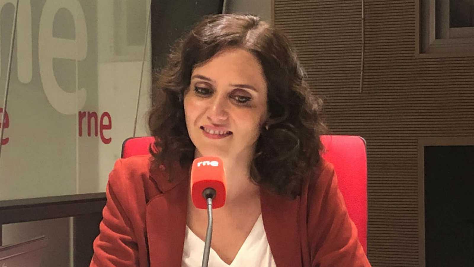 رئيسة مدريد