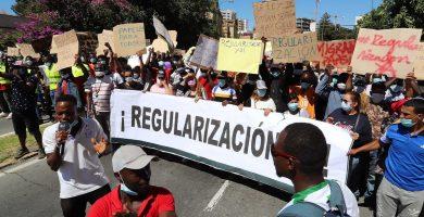 البرلمان الإسباني تسوية أوضاع المهاجرين