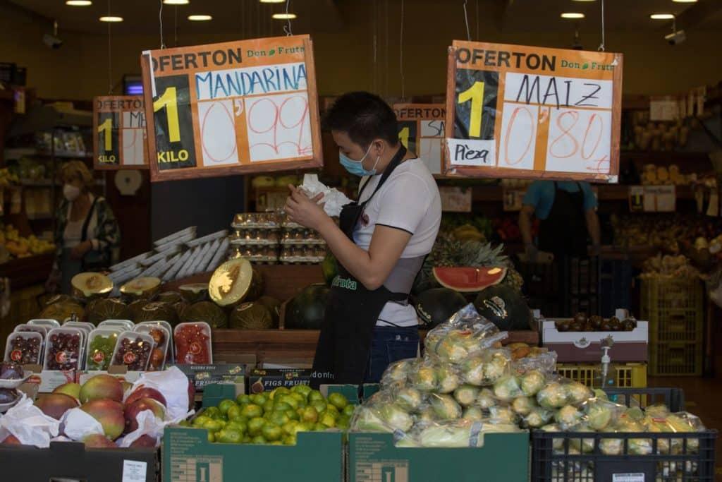 بيع الفواكه