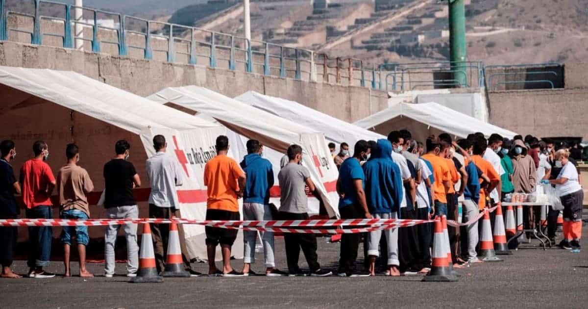 مهاجرين إسبانيا