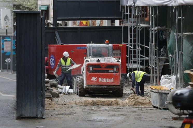 قطاع البناء إسبانيا