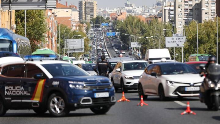 الطوارئ مدريد