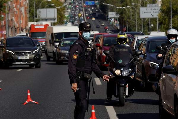 نقاط مراقبة مدريد