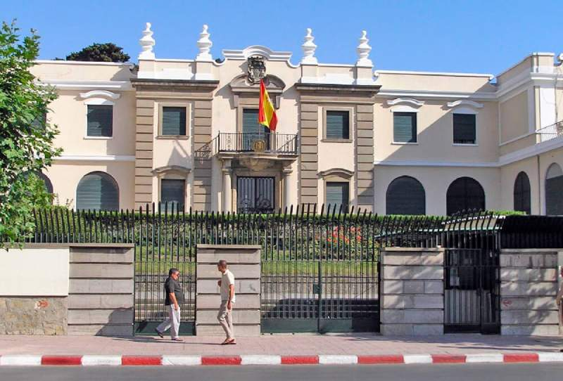 السفارة الإسبانية