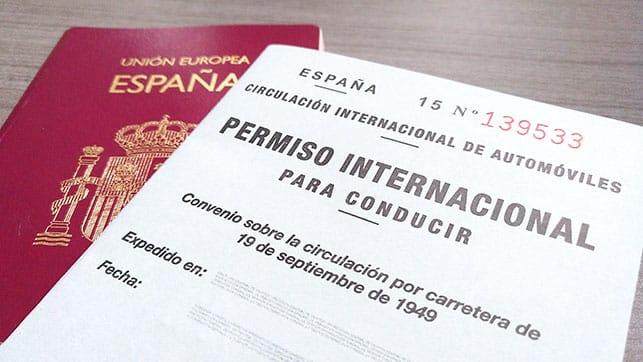 رخصة سياقة دولية