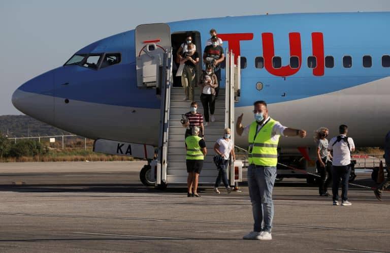 طائرة سياح