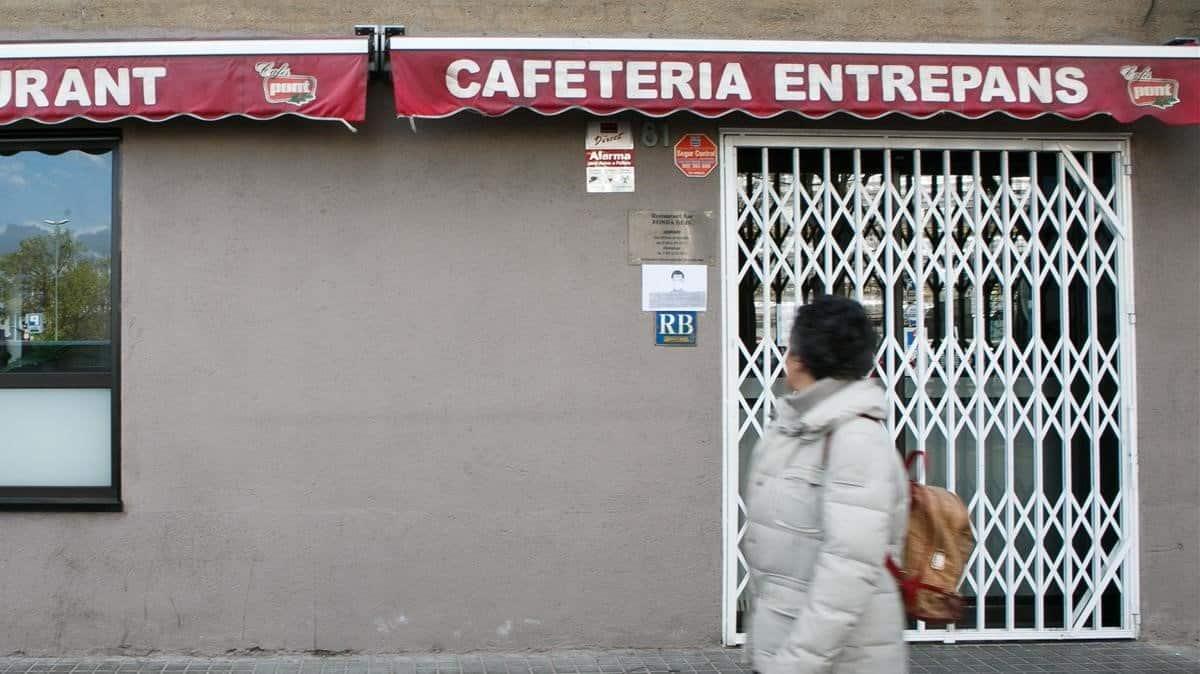 إغلاق المطاعم