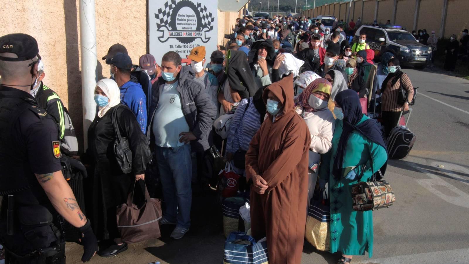فتح الحدود الإسبانية المغربية