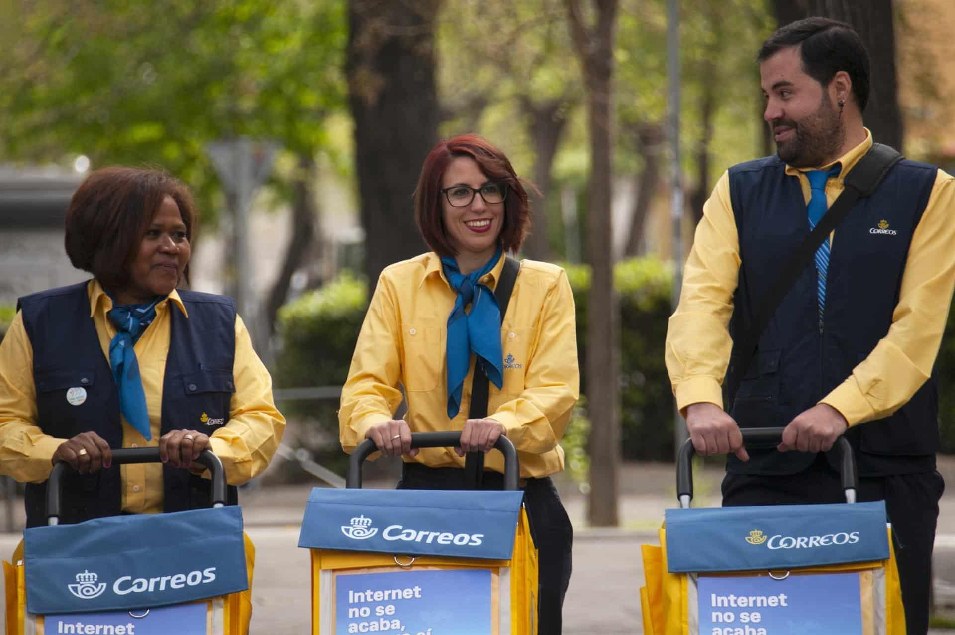 شركة البريد الإسبانية