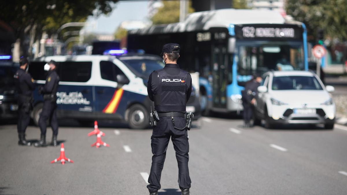 حالة الطوارئ مدريد