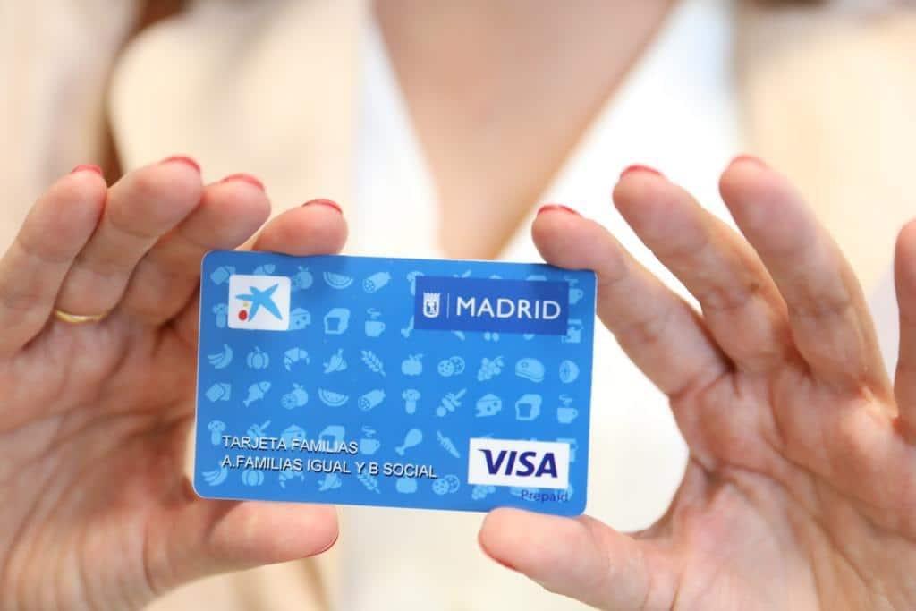 بطاقة الإعانة مدريد