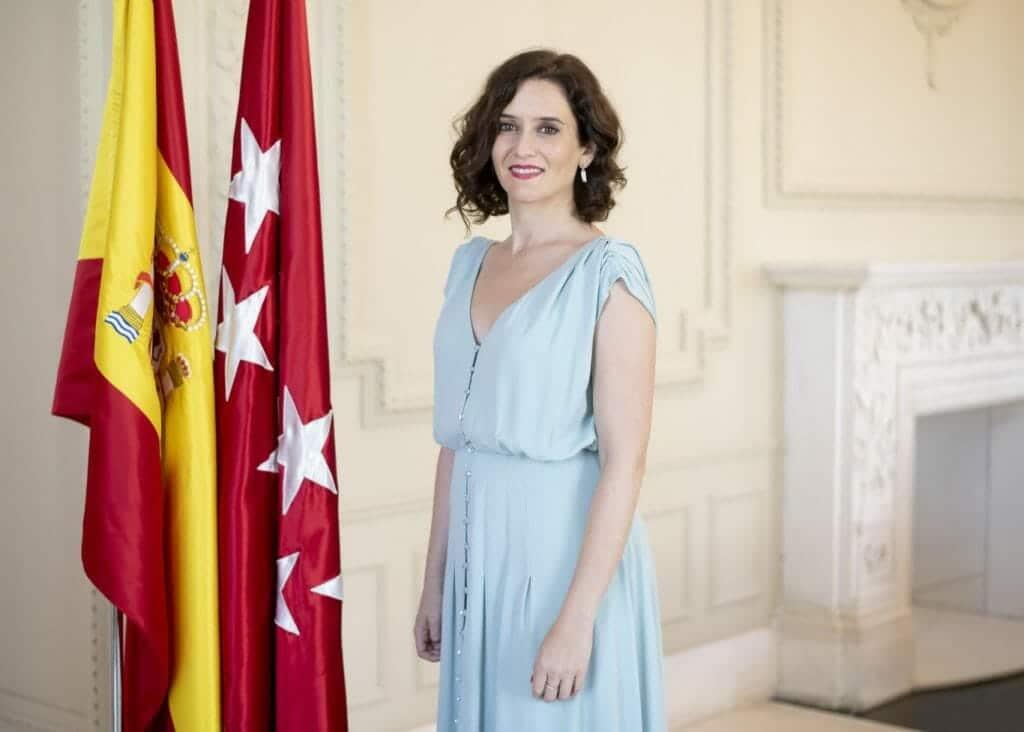 رئيسة إقليم مدريد