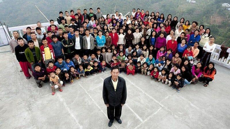 أكبر أسرة في العالم