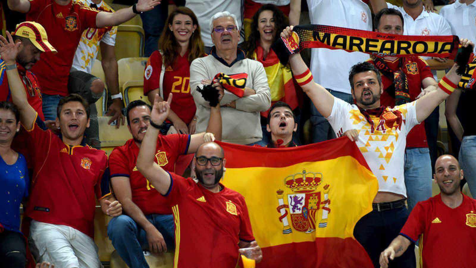 مشجعين المنتخب الإسباني