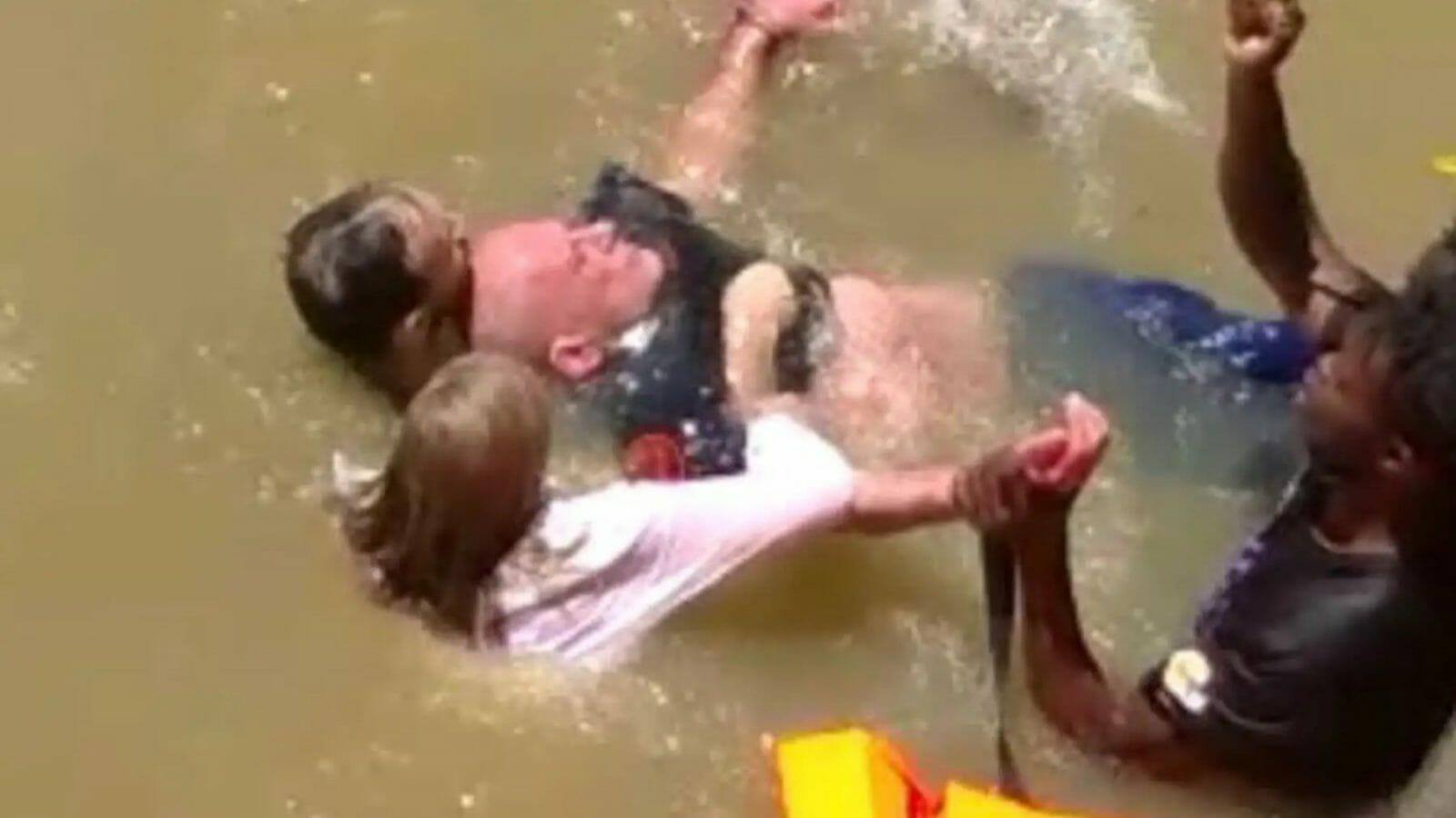 إنقاذ من الغرق