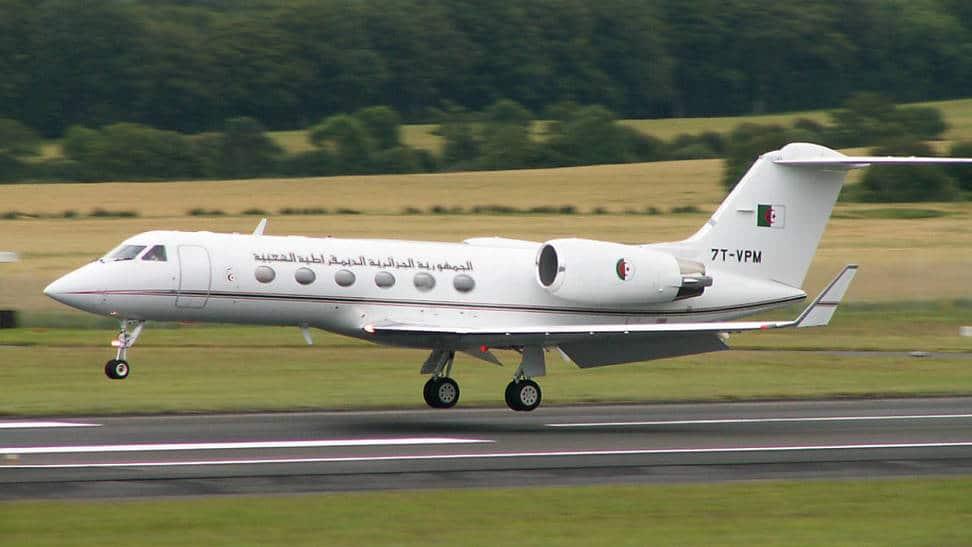 طائرة خاصة جزائرية